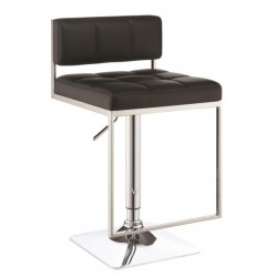 Adjustable Bar Stool 100194 Black