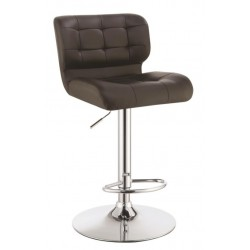 Adjustable Bar Stool 100544 Brown