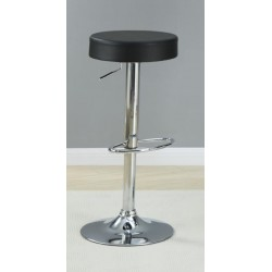 Adjustable Bar Stool 102558 Black
