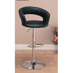 Adjustable Bar Stool 120346 Black