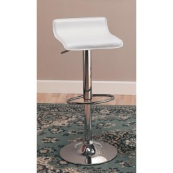 Adjustable Bar Stool 120391 White