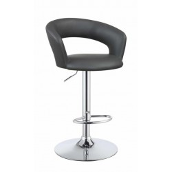 Adjustable Bar Stool 120397 Grey
