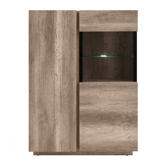 Anticca Glass-Door Cabinet REG1W1D/100
