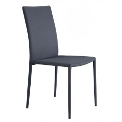 Dining Chair 107912 Grey/Black