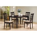 Dining Table 100771 Cappuccino