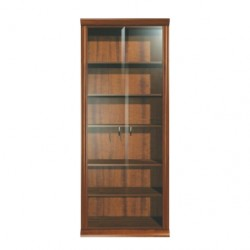 Milo Glass Door Bookcase A9 2D 261-21
