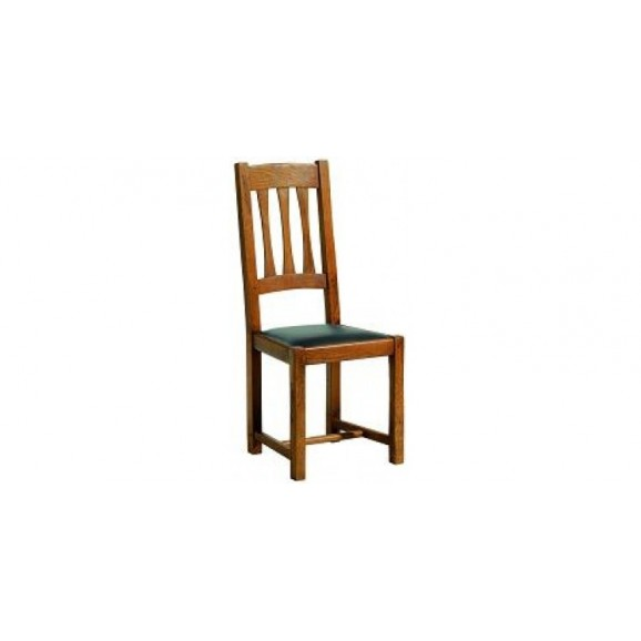 Chair, leather seat T 0797