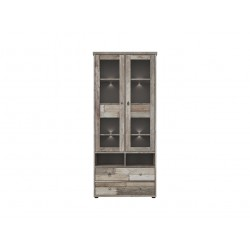Tarbes Glass-door cabinet REG2W4S/19/8