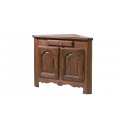 CORNER SIDEBOARD,two-door, with a drawer T0123