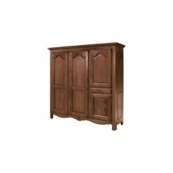WARDROBE, three-door T0215