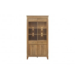 Bergen Glass-door Cabinet REG2W2D