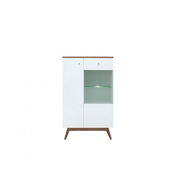 Heda Glass-door Cabinet REG1D1W