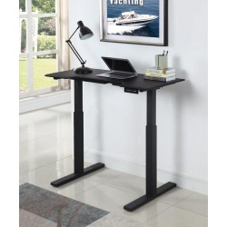 POWER ADJUSTABLE DESK 801886M BLACK
