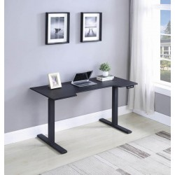 POWER ADJUSTABLE DESK 802886M BLACK