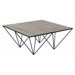 COFFEE TABLE 721688 WHITE WASHED NATURAL
