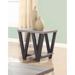 END TABLE 705397 BLACK / GRAY
