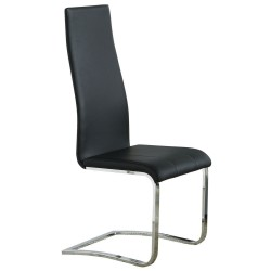 Dining Chair 100515BLK Black