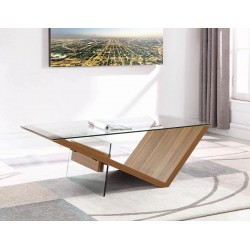 COFFEE TABLE 721378 LIGHT WALNUT