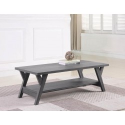 COFFEE TABLE 721388 DISTRESSED GREY