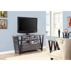 TV STAND 701015 BLACK/GREY