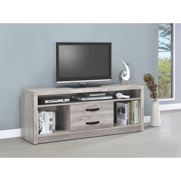 TV STAND 701024 GREY DRIFTWOOD