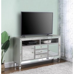 TV STAND 722272 METALLIC PLATINUM