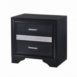 NIGHTSTAND 206362 BLACK