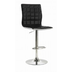 ADJUSTABLE BAR STOOL 122087 BLACK