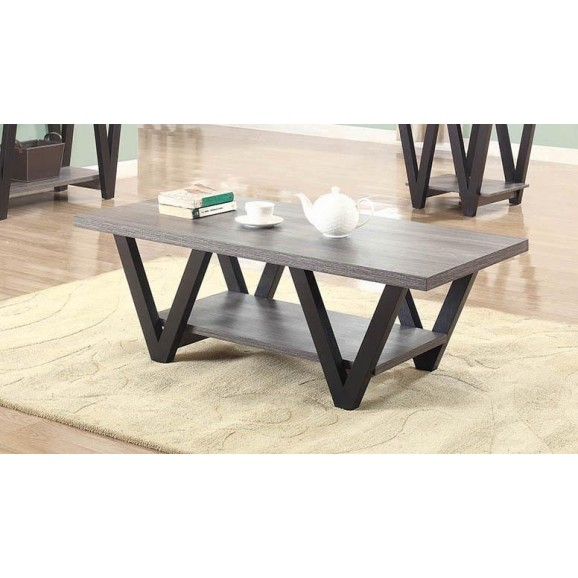 COFFEE TABLE 705398 BLACK / GRAY