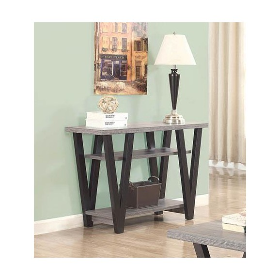 SOFA TABLE 705399 BLACK / GRAY