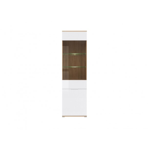 Zele Glass-door Cabinet REG1W1D