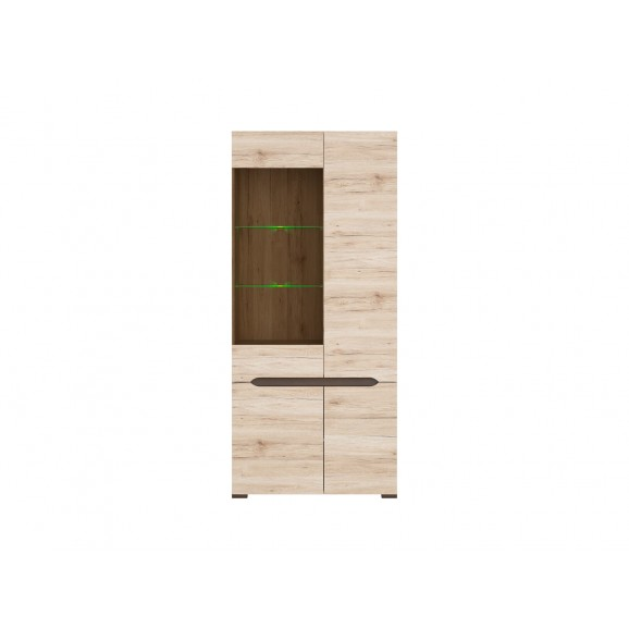 Elpasso Glass Door Cabinet Reg1w3d 20 9 Idea Furniture